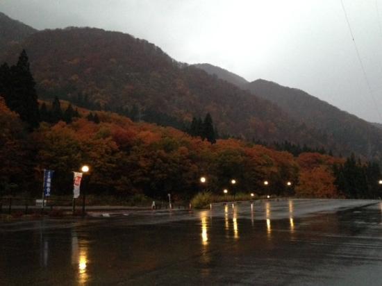 Michi-no-Eki Hidahakusan : 紅葉がきれいです