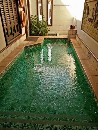 Private indoor pool  Private indoor pool - Picture of Grand Lexis Port Dickson, Port ...