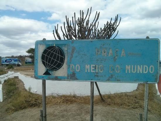Boa Vista, PB: Placa indicativa