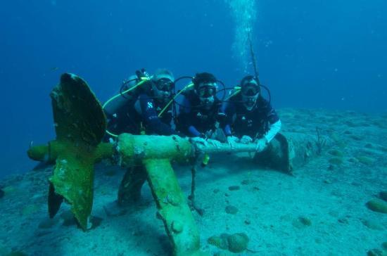 Zatoka Simpson, Sint Maarten: Beautiful dive sites!!!