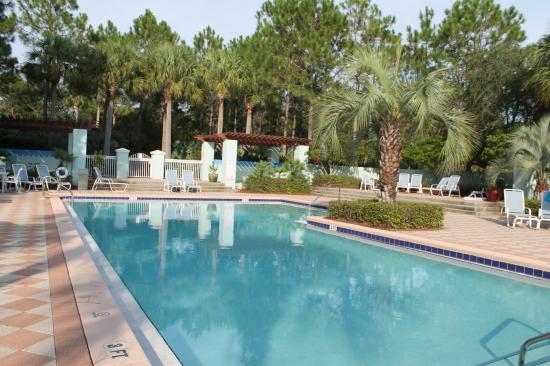 Gulf Place: Interior pool