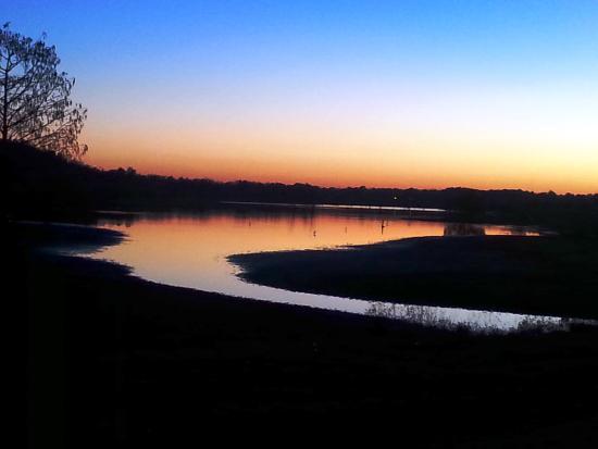 Carlyle, IL: sunset at the lake