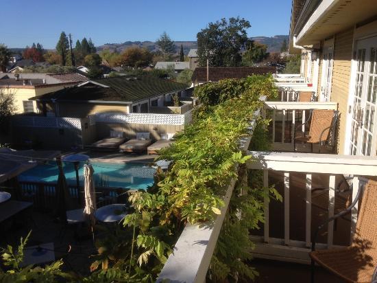 El Dorado Hotel & Kitchen: Second floor courtyard view