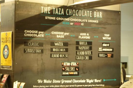 Taza Chocolate Bar