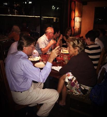 Grazie Italian Restaurant: Grazie wine tasting