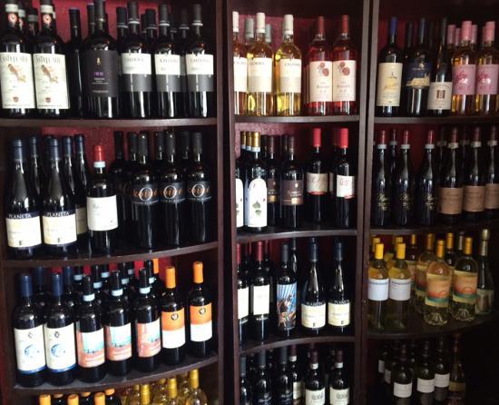 Grazie Italian Restaurant: wines