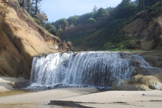 Hug Point State Park Falls At