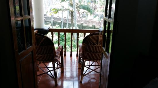 WoodHouse Beach Resort: Balcony