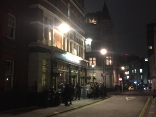 Cote Brasserie - Marylebone: outside nr 2
