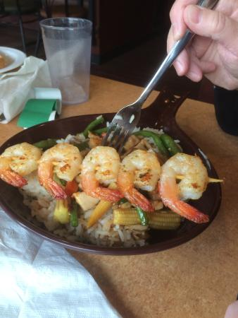 Jax Grill & Lounge: Grilled Shrimp