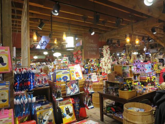 เวสตัน, เวอร์มอนต์: some of the goods on sale