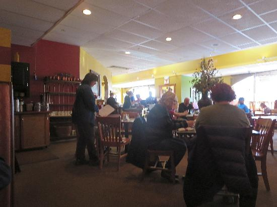 Farmington, ME : interior of restaurant