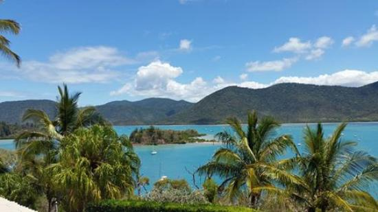 Shute Harbour, Australien: View from our balcony in room 10