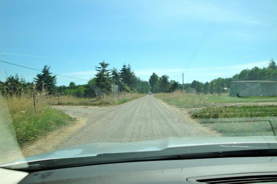 Sequim, WA: down the dusty lane