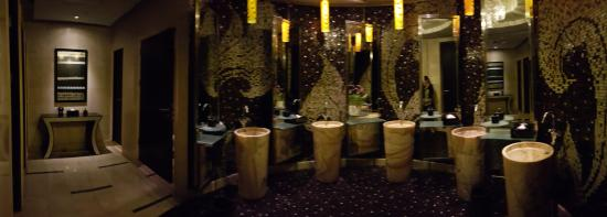 Pullman Bangkok Grande Sukhumvit Hotel Lobby Restroom Unique Design Clean