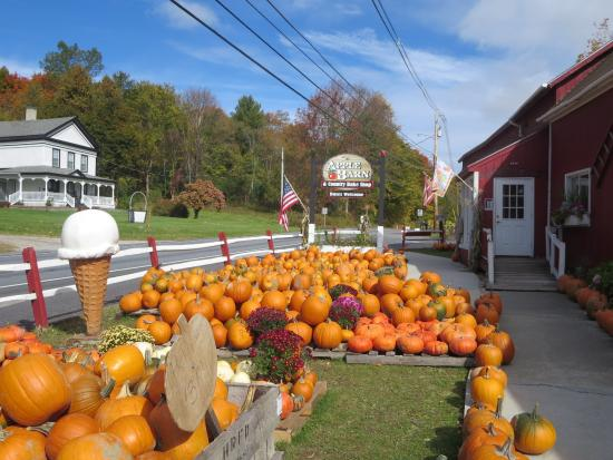 The Apple Barn and Country Bake Shop : outside display