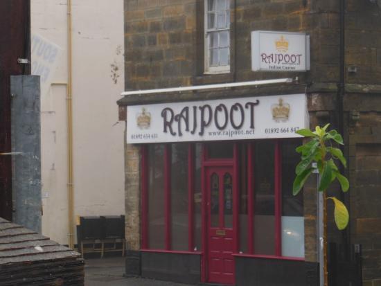 Rajpoot: Front sign.
