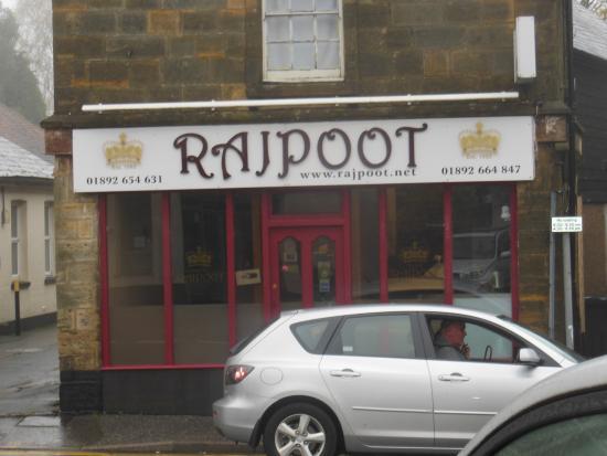 Rajpoot: Outside view.