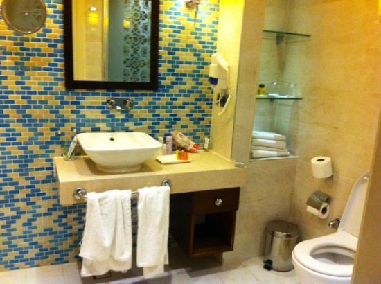 Grand Durmaz Hotel: Ванная