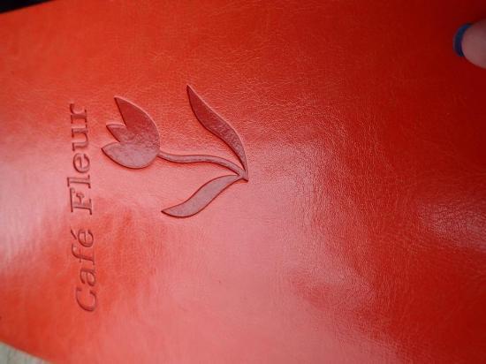 Fleur Cafe: Menu cover