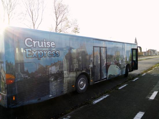 Zeebrugge, Belgia: Meet our shuttlebus