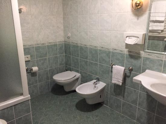 Bagno con vasca e doccia   foto di best western classic hotel ...