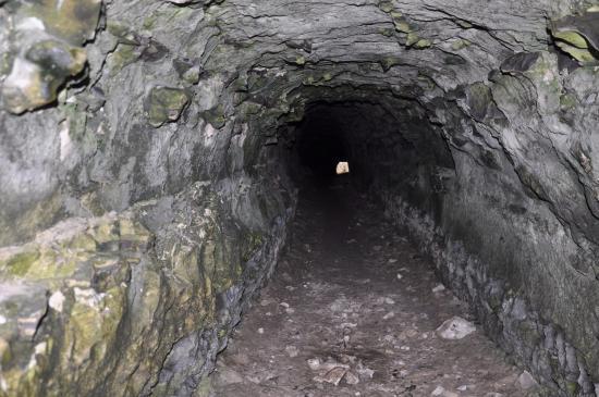 Voil ce tunnel allant de ce bourg l 39 int rieur des terre for L interieur de la terre