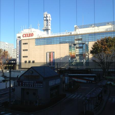 Terminal Hotel: ホテルフロントから 正面は甲府駅です