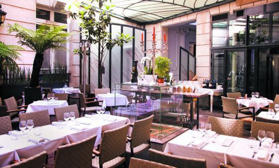 Voir tous les restaurants pr s de opera vivaldi paris for Restaurant avec patio paris