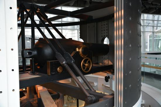 The Mariners' Museum & Park: Turret reproduction