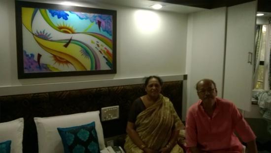 Hotel Sonali Regency: my mama and mamima