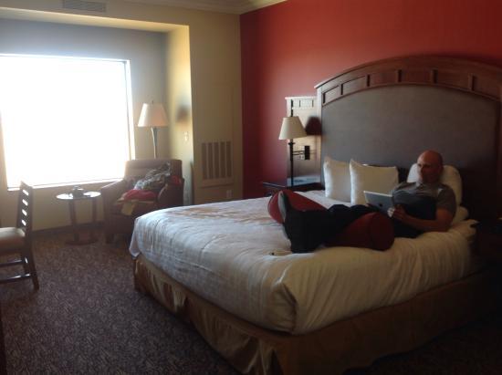 Grand Hotel Enjoying The Room