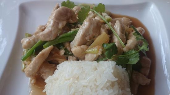 Le Sarawan: Le poulet au gingembre et ciboule