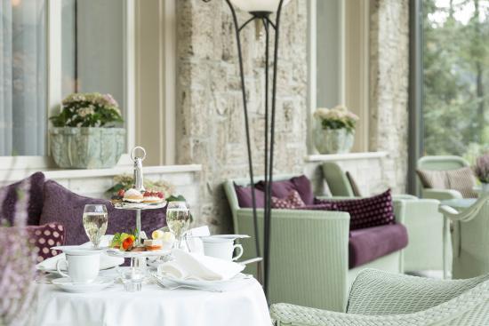 Cresta Palace Hotel: Wintergarten