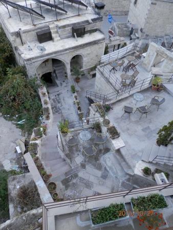 salon de jardin sur terrasse - Picture of Aydinli Cave Hotel, Goreme ...