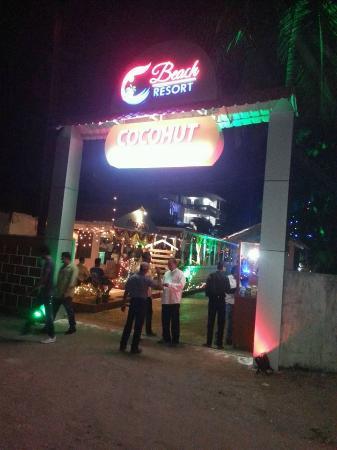 C Beach Resort Entarance