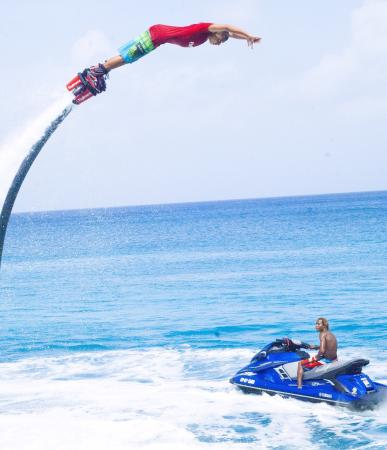 San Andrés, Colombia: Flyboard