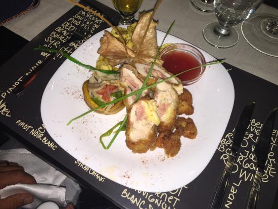 Restaurant - Paladar Mallorca: stuffed chicken