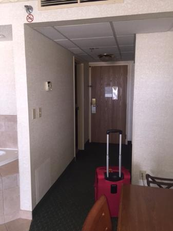 Cedar Rapids Marriott: Door way.