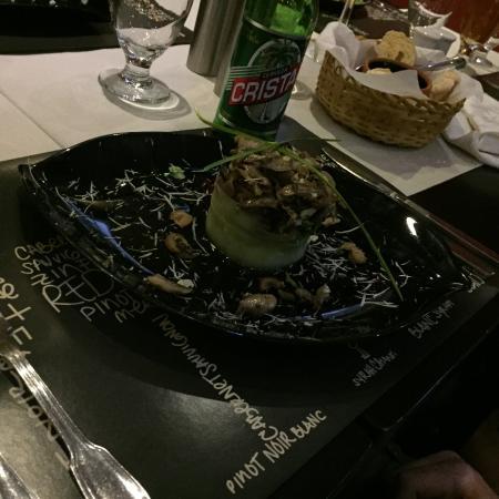 Restaurant - Paladar Mallorca: garlic mushrooms