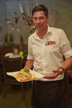 Pfullendorf, Alemania: Restaurantleiter Dietmar Graf