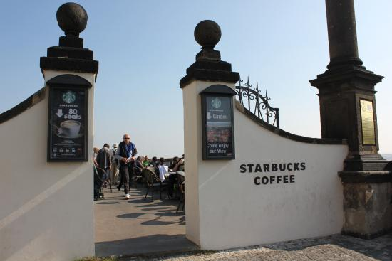 Image result for prague castle starbucks