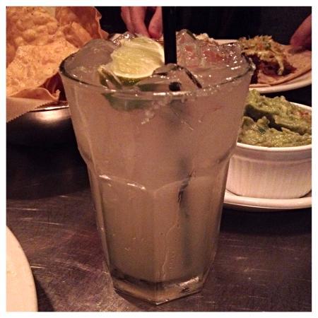 Holy Taco: organic margarita