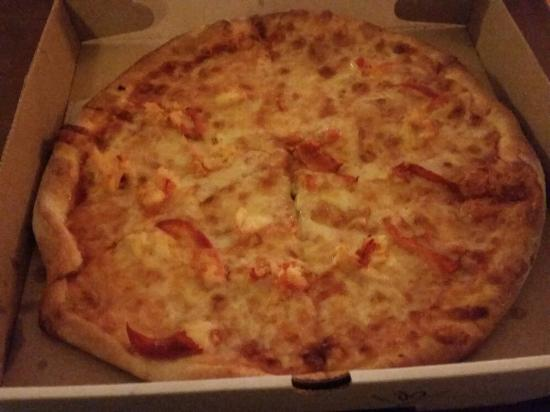Onset, MA: Lobster Pizza