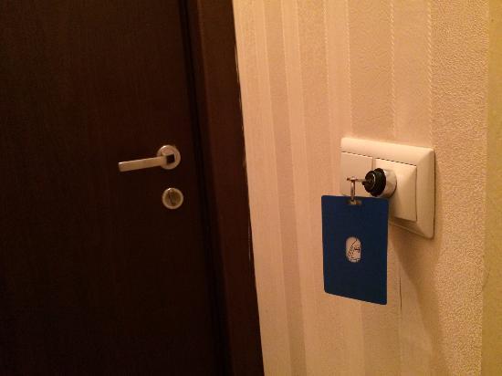 Hotel Iliani : Специальный ключ