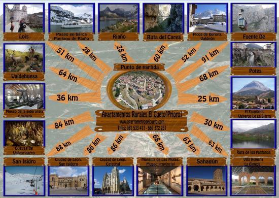 Prioro, Spain: Destinos cercanos
