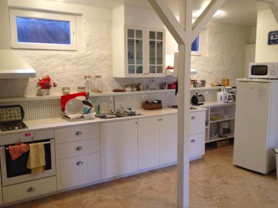 Flying Viking Guesthouse : Big shared kitchen