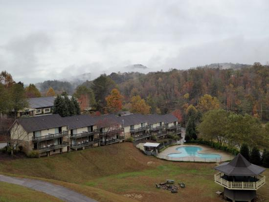 Kingwood Country Club & Resort: View from our room.