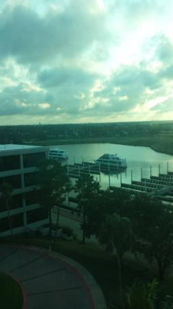 South Shore Harbour Resort and Conference Center: view from 6th floor