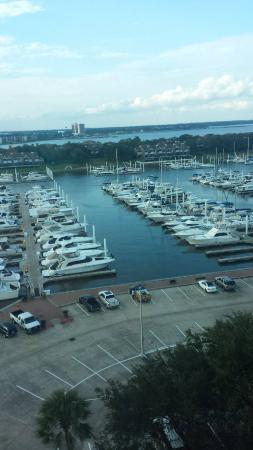 South Shore Harbour Resort and Conference Center: view from elevator